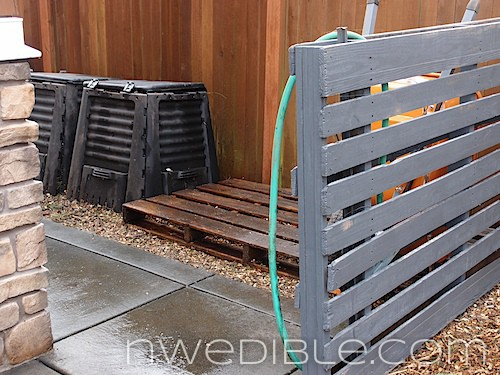 The Ugly Side of Urban Homesteading: Screening Storage Areas with Pallets