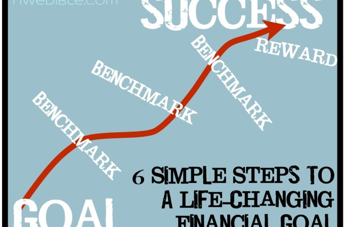 6 Simple Steps To A Life-Changing Financial Goal