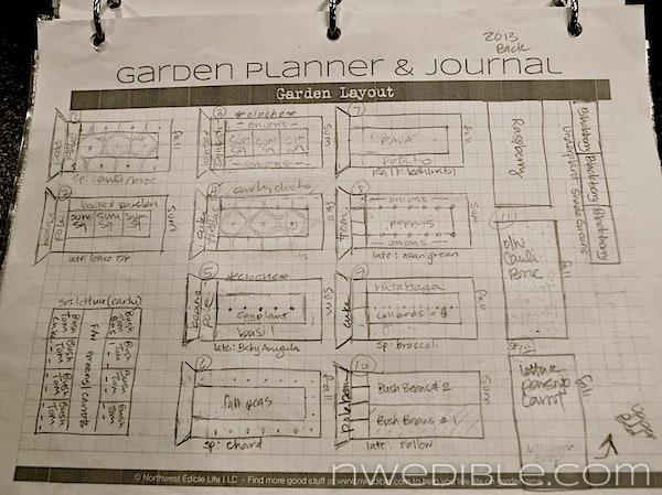 Garden Plan 2013