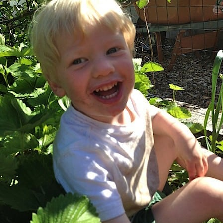 The Agony and the Ecstasy of Gardening with Children