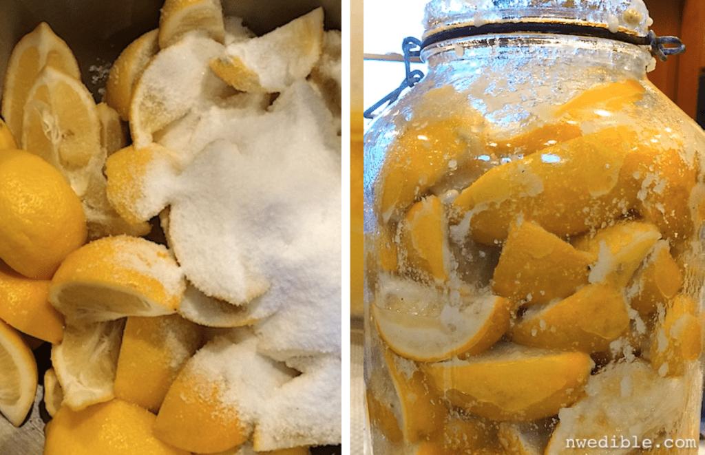 Salt Cured Meyer Lemon