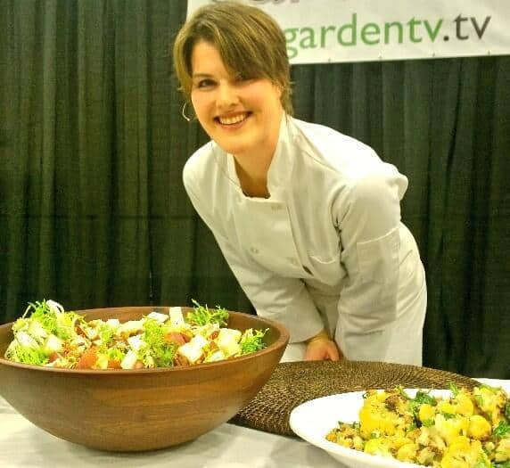Erica at Flower and Garden Show