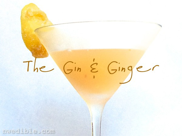 The Gin & Ginger Cocktail