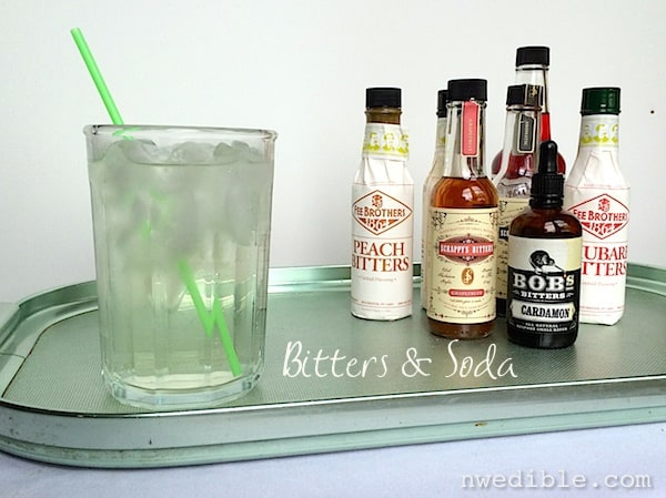 Bitters and Soda: A Refreshing Mocktail