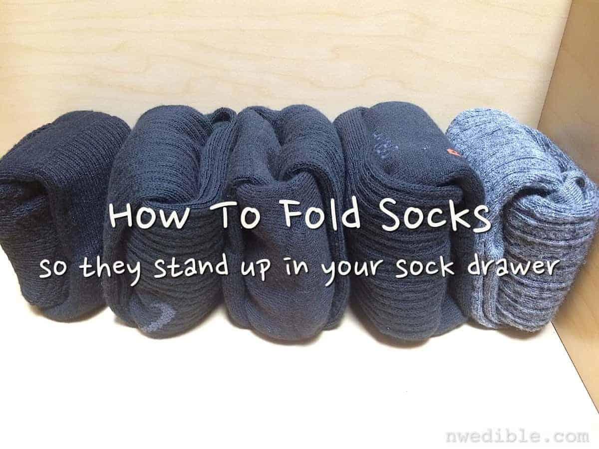 The Life Changing Magic Of Folding Socks Northwest