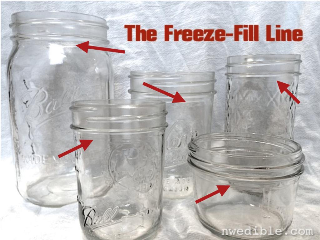 Freeze-fill line