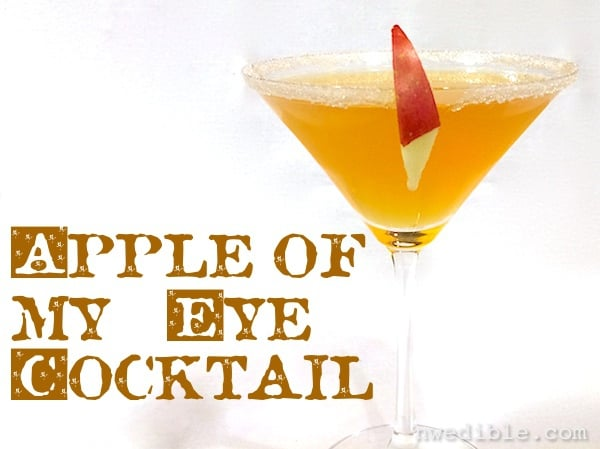 Apple of my Eye cocktail