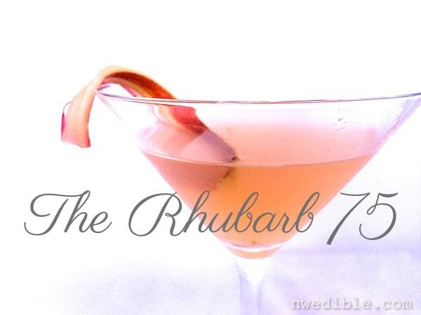 Rhubarb 75