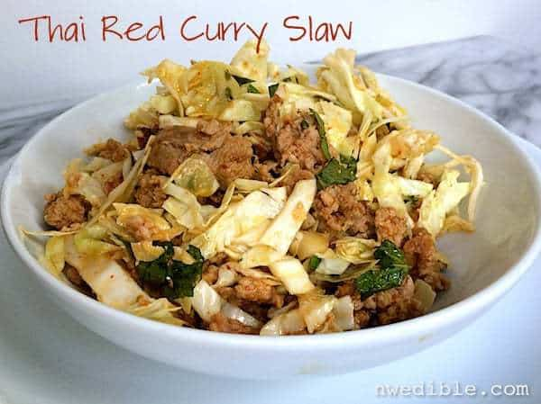 Thai Red Curry Slaw