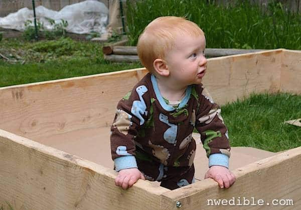 Raised bed frames are just like outdoor pack-n-plays!