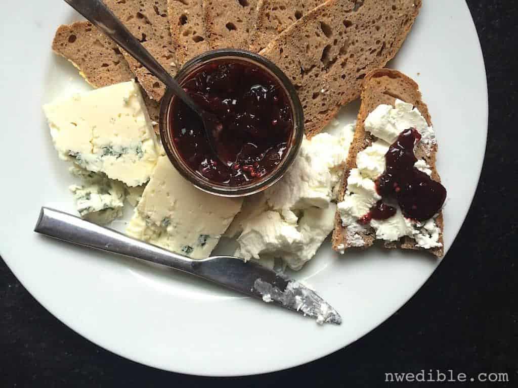 Cheese Cherry Chutney