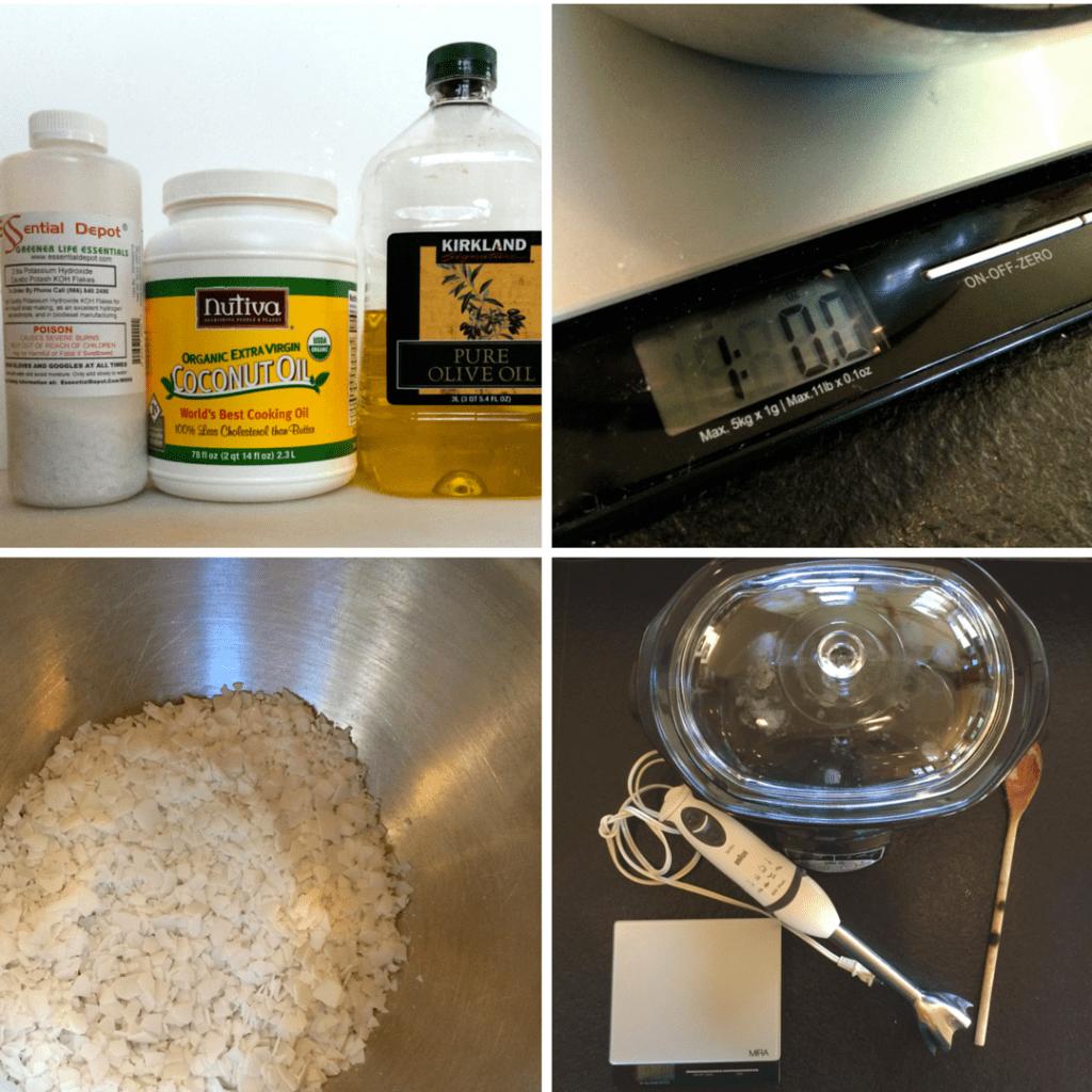 Liquid Soap Making Set Up