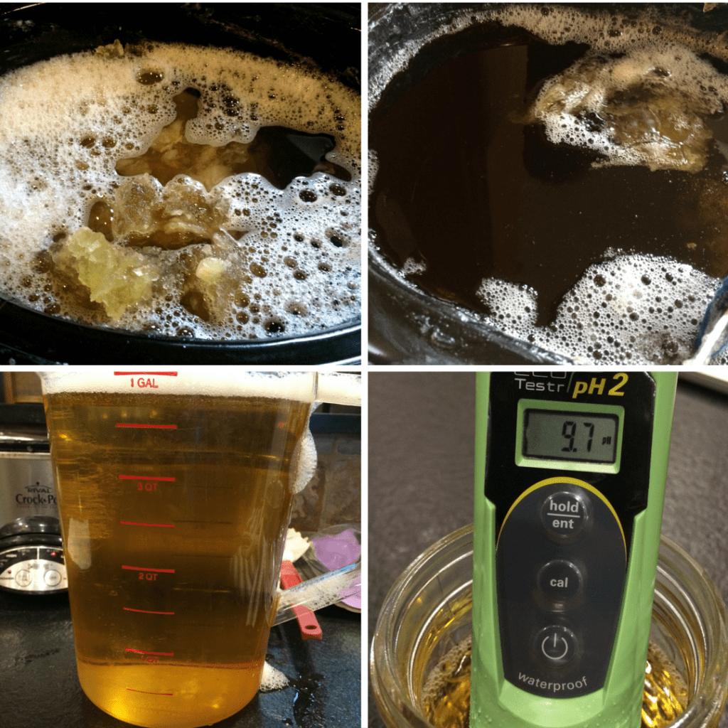 Liquid Soap Progress3