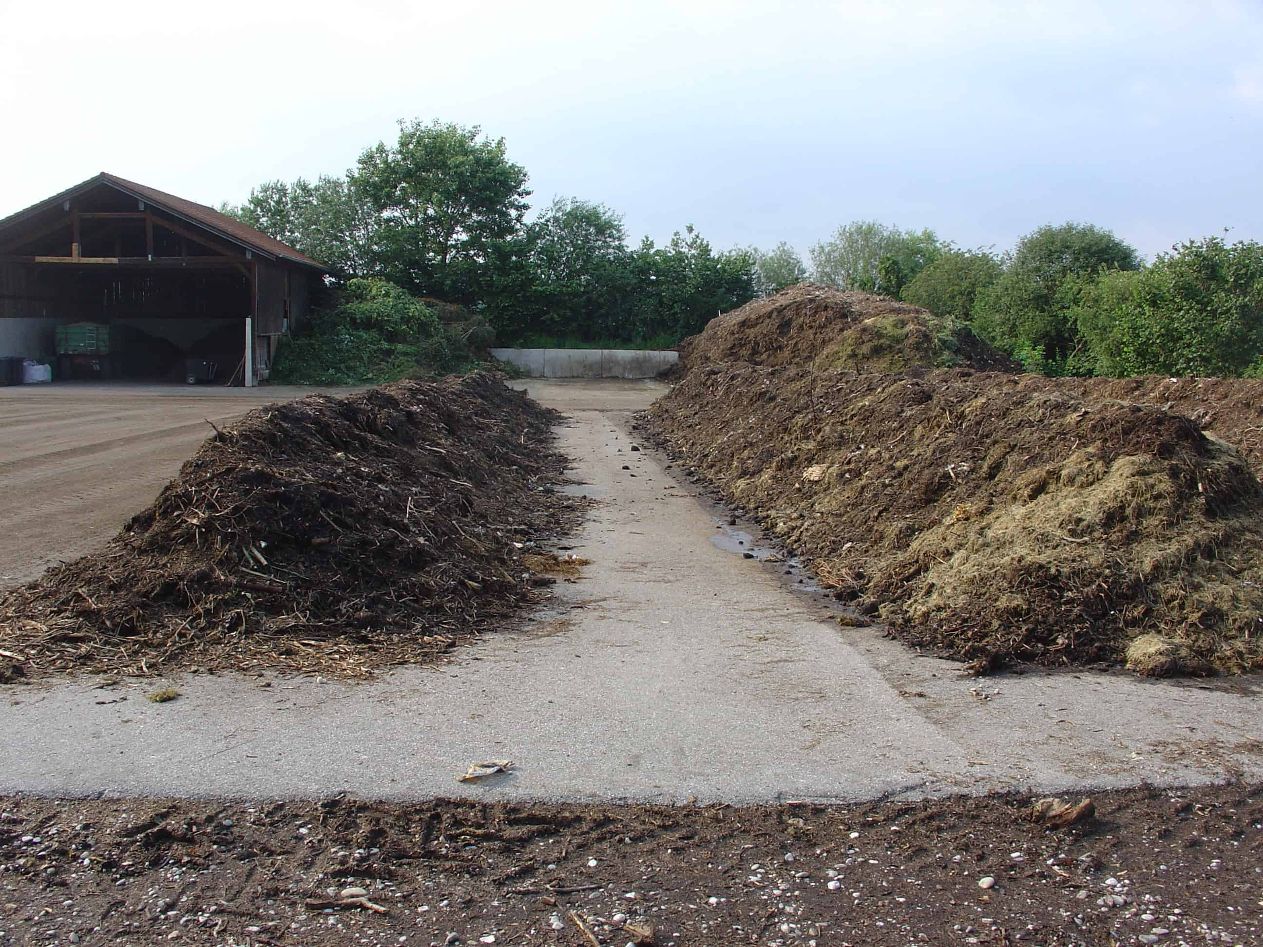 A community composting site in Germany.