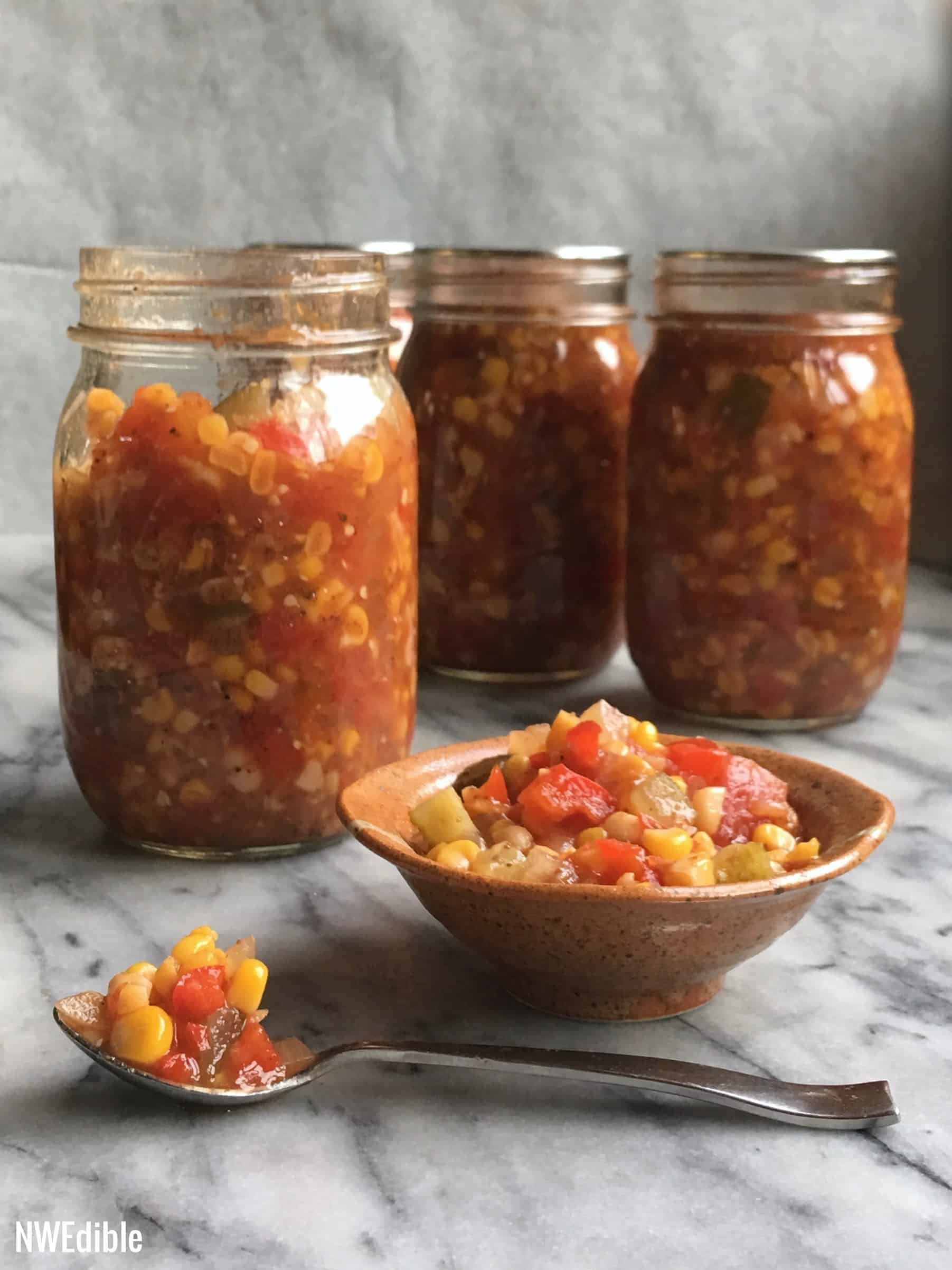 Old Bay Corn Relish Complete 27